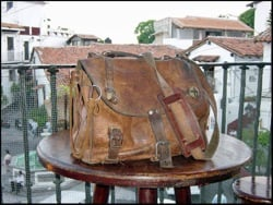 Saddleback Leather first bag