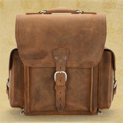 Squared Backpack - Tobacco (25% Discount)