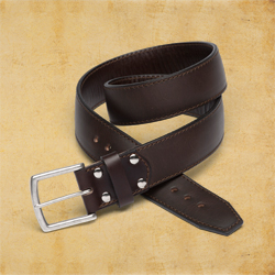 Tow Belt 1.75&quot wide, size 38, Dark Coffee Brown<br>(10% Discount)