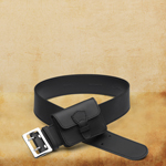 Wide Leather Belt for Women