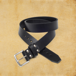 Old Bull Belt 1.5&quot wide, size 32, Carbon Black<br>(10% Discount)