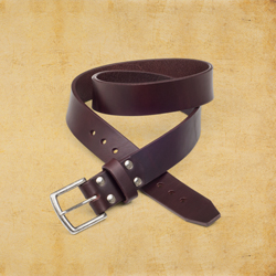 Old Bull Belt 1.75&quot wide, size 32, Chestnut<br>(25% Discount)