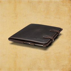 iPad Case (iPad 2 - iPad 3 Case) - Dark Coffee Brown<br> (25% Discount)