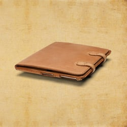 iPad Case (iPad 2 - iPad 3) - Tobacco<br> (25% Discount)