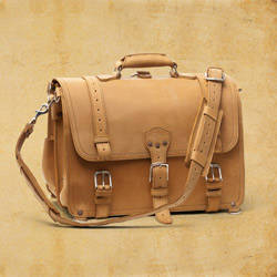 Briefcase - X-Large, Tobacco<br>(10% Discount)