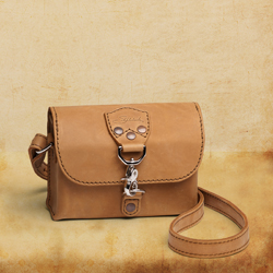 Leather Clutch Purse, Tobacco<br> (10% Discount)