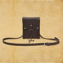 Pouch - Dark Coffee Brown<br> (25% Discount)