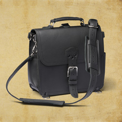 Satchel - Large, Carbon Black <br>(10% Discount)