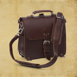 Satchel - Large, Chestnut <br>(25% Discount)