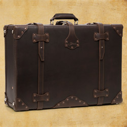 Suitcase - Large, Dark Coffee Brown<br>(10% Discount)