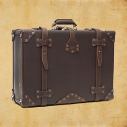 Suitcase - Medium, Dark Coffee Brown<br>(10% Discount)