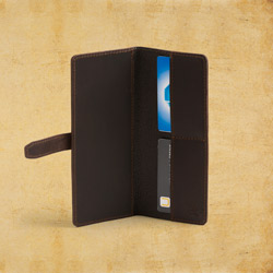 Wallet Slim, Dark Coffee Brown<br>(10% Discount)