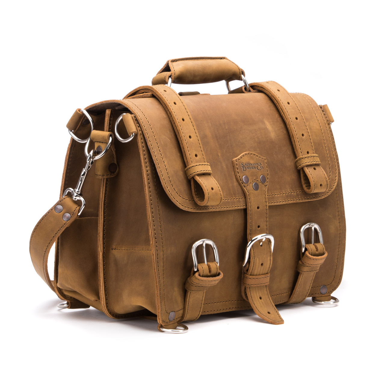 Saddleback Leather Large Classic Briefcase Review | BMB