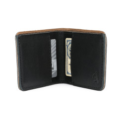 Bifold Wallet - Small, Black (25% Discount)