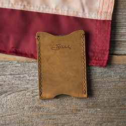 Sleeve Wallet - Tobacco (Incorrectly Stamped)<br></noscript>(25% Discount)