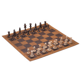 Tournament Chess and Checkers Set