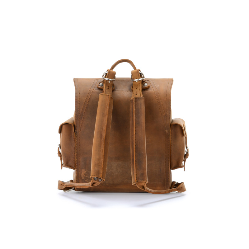 simple leather backpack AmPI8Cn5