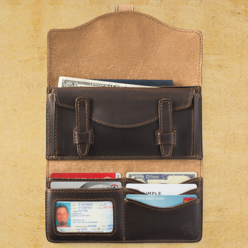 Long Trifold Wallet