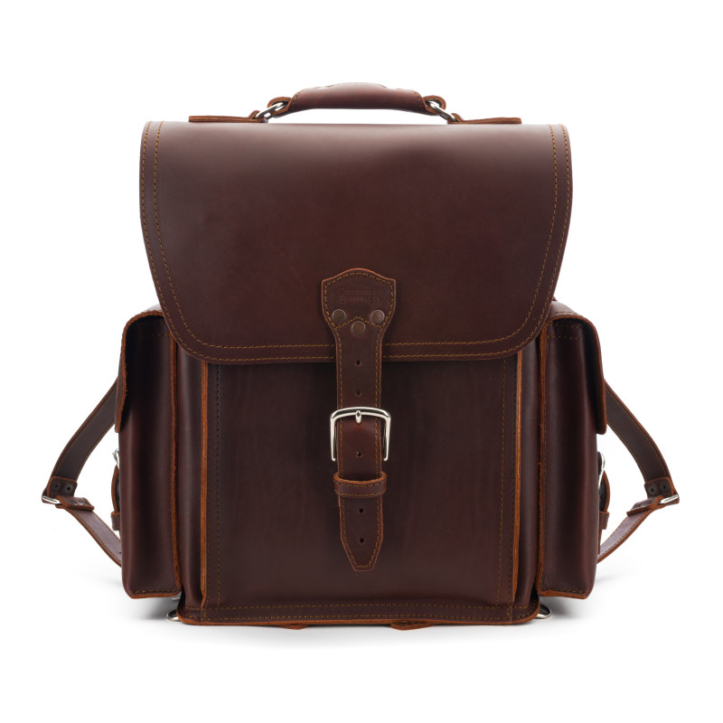 Squared Backpack - Chestnut (10% Discount)