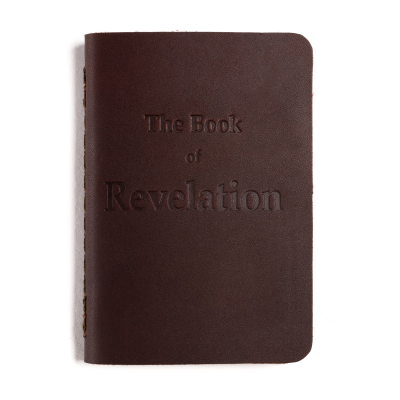 Book of Revelation Bible Booklet - Chestnut (25% Discount)