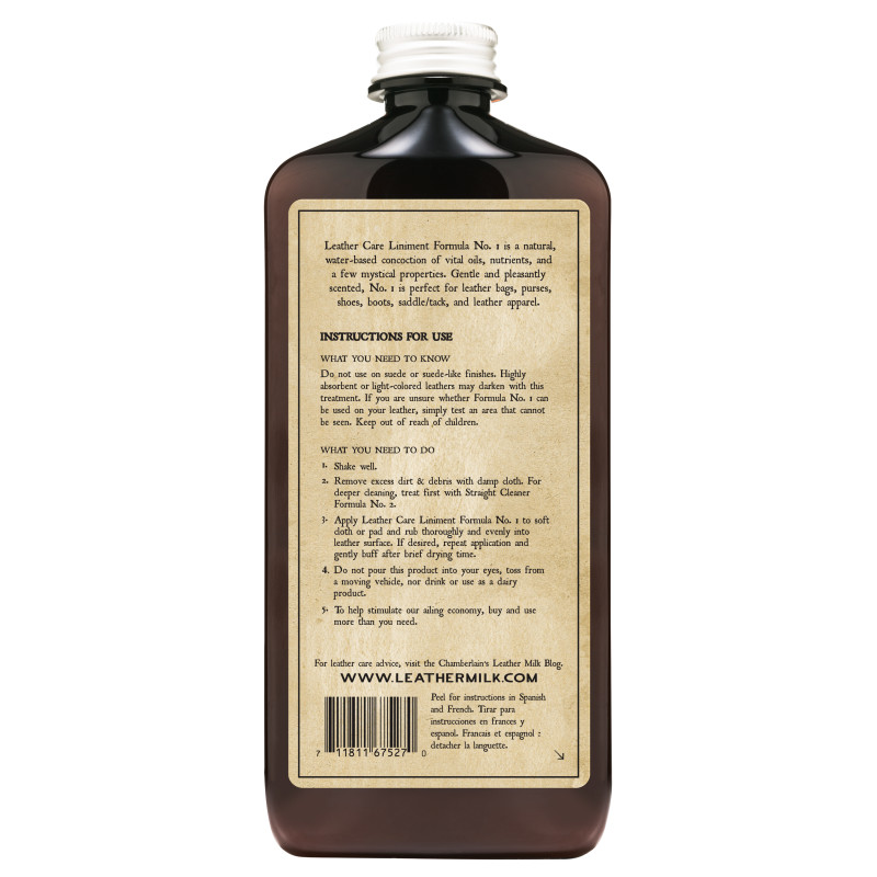 Chamberlain Leather Milk Liniment No. 1