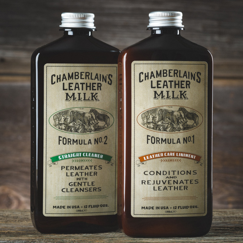 Chamberlain's Leather Milk No. 1 / No. 2 Set