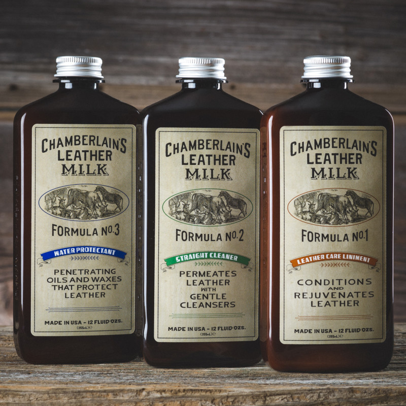 Chamberlain's Leather Milk No. 1 / No. 2 / No. 3 Set